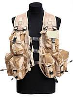 Разгрузочный жилет waistcoat mens Waistcoat, mens (general purpose) в расцветке DDPM. Великобритания, оригинал