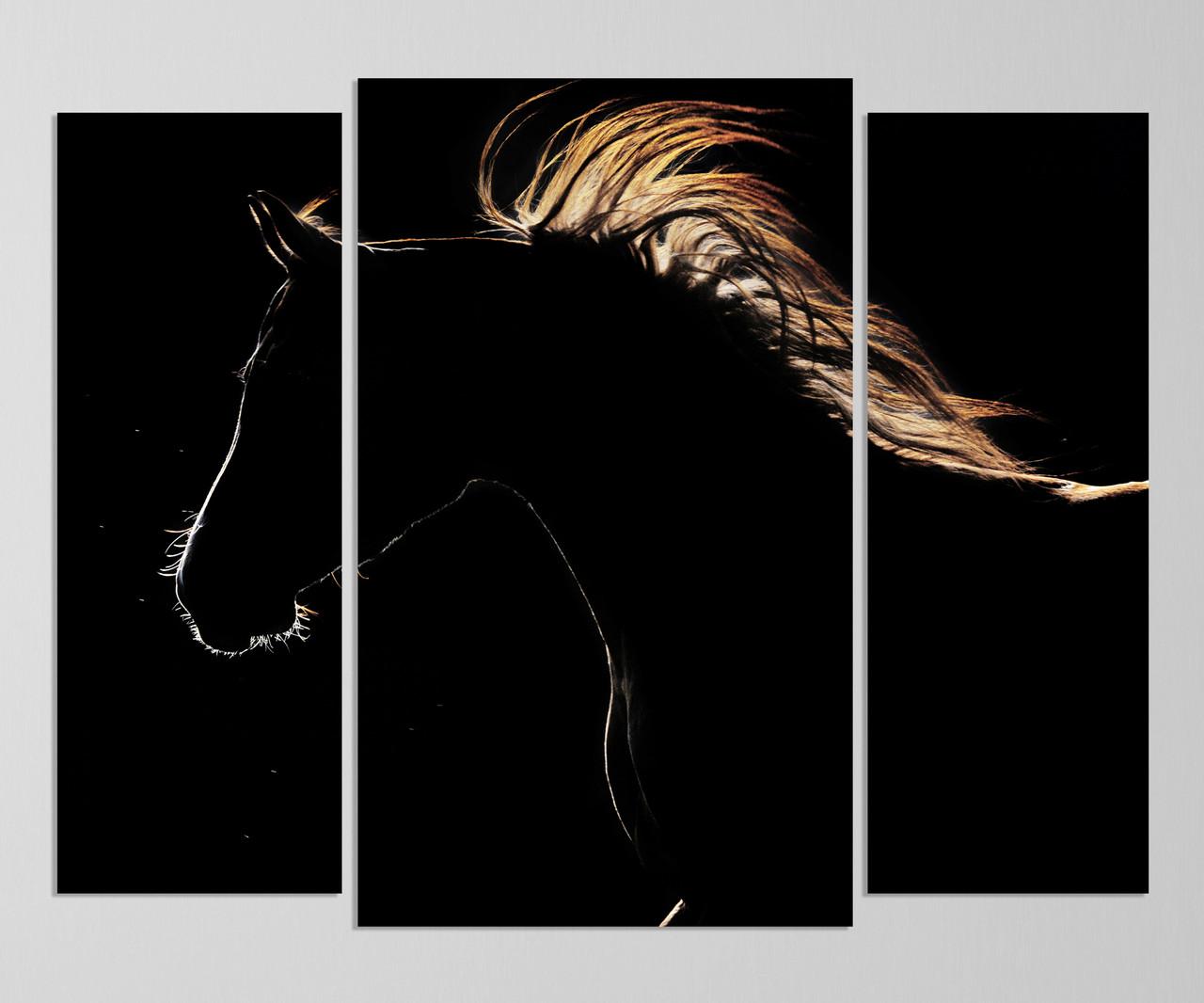 """Модульная картина """"Лошадь"""""""