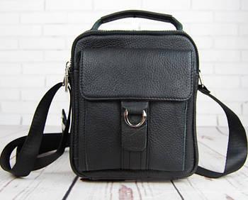 Небольшая мужская сумка с ручкой., размер Средний