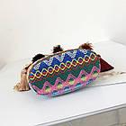 Разноцветная женская сумка с кисточками 2, фото 5