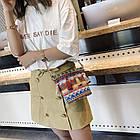 Разноцветная женская сумка с кисточками 2, фото 2