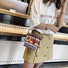 Разноцветная женская сумка с кисточками 2, фото 3