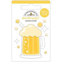 Наклейка 3D - Cheers - Lots Of Luck - Doodlebug