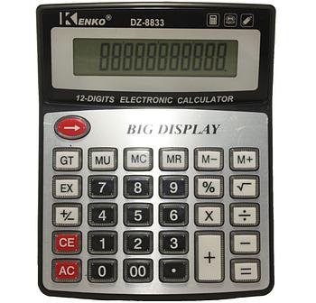 Калькулятор большой с прозрачными кнопками