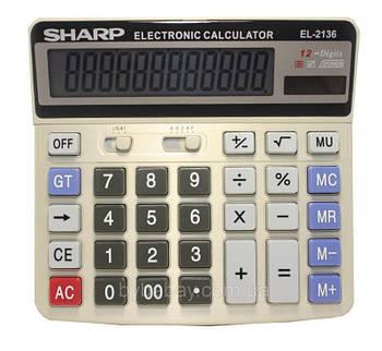 Калькулятор SHARP-2136