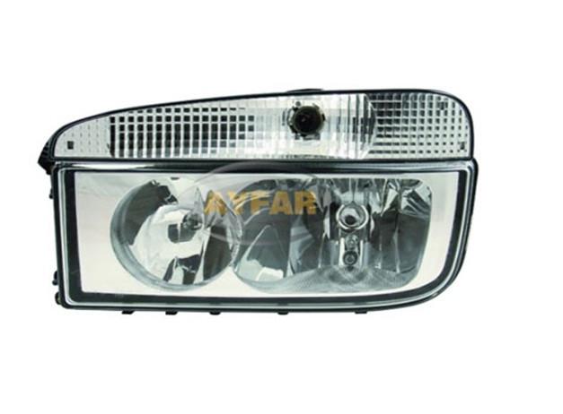 Фара для грузовика  Mercedes Axor-MP 2 (2004-2008>) с поворотом/505675 L/1378
