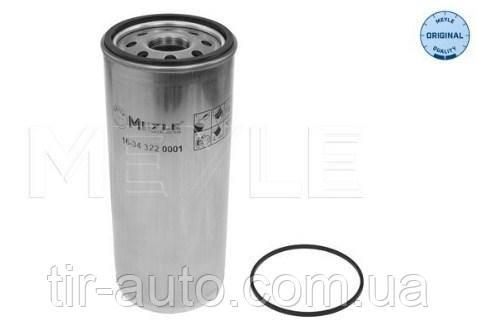 Фильтр масляный Renault C, D, K, KERAX, MAGNUM, PREMIUM 2, T; VOLVO 7700,B 7, B 9, F 16, FE II(MEYLE)