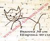 Кованая вешалка в форме кота, фото 2