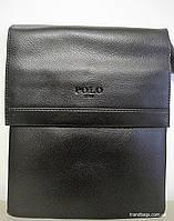 Мужская сумка 313 - 3 black POLO мужская сумка на плечо не дорого Одесса 7 км, фото 1
