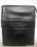 Мужская сумка 6761-3 black POLO мужская сумка на плечо не дорого Одесса 7 км, фото 1
