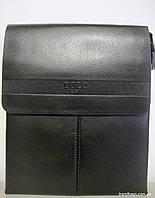 Мужская сумка 6682-2 black POLO мужская сумка на плечо не дорого Одесса 7 км, фото 1
