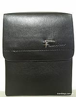 Мужская сумка Р001-1 black FASHION мужская сумка на плечо не дорого Одесса 7 км