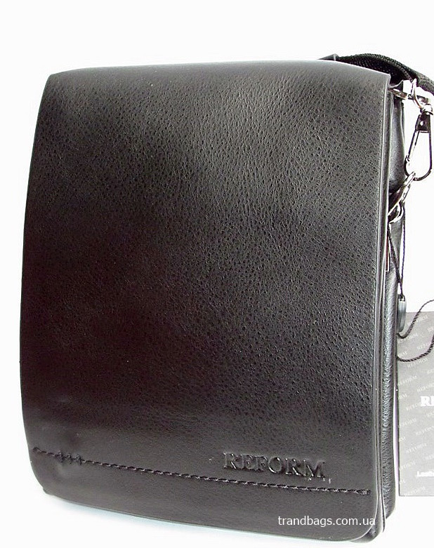 e005a9afa898 Мужская сумка Р003-2 black REFORM мужская сумка на плечо не дорого Одесса 7  км