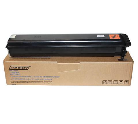 Тонер Toshiba T-2450, Black, e-Studio 195/223/225/243/245, туба, 550 г, IPM (TKT24EU), фото 2