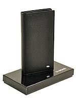 Мужское кожаное портмоне   M68 black.Купить портмоне кожаные оптом и в розницу Одесса 7км, фото 1