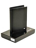 Мужское кожаное портмоне   M64 black.Купить портмоне кожаные оптом и в розницу Одесса 7км, фото 1