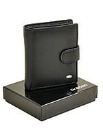 Мужское кожаное портмоне M31 black.Купить портмоне кожаные оптом и в розницу Одесса 7км, фото 1