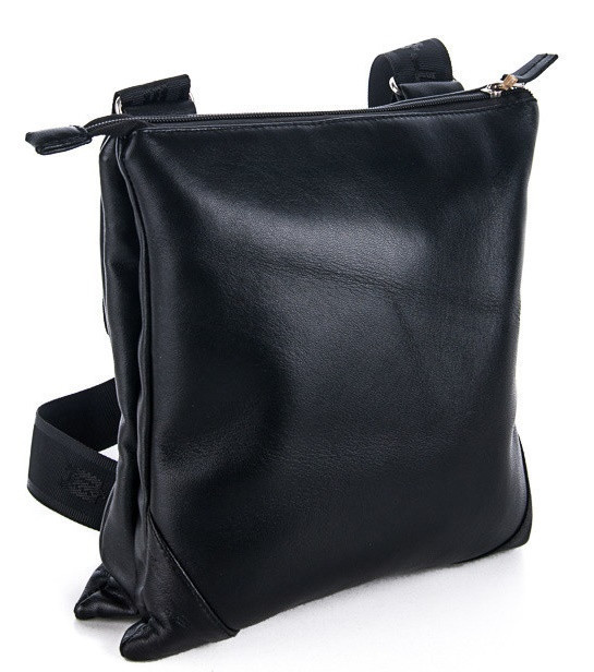 687ac43e86c3 Мужская кожаная сумка 7402 Black. Пошив сумок под заказ - Интернет магазин