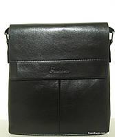 Мужская сумка А2027-3 black FASHION  мужская сумка на плечо не дорого Одесса 7 км, фото 1