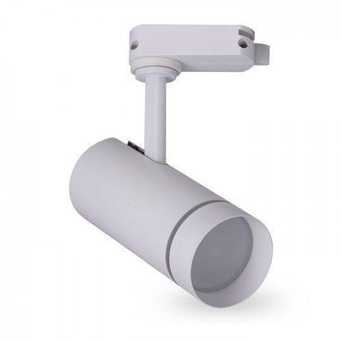 Светодиодный трековый светильник AL-106L 10W 3000К белый Код.59451