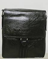 Мужская сумка 1601S-1 black CANTLOR мужская сумка на плечо не дорого Одесса 7 км