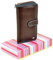 67a63a213ffe Женский кожаный кошелек DR. BOND Rainbow W21-17 coffee кожаные кошельки  оптом Одесса 7