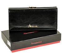 f2bea78bc350 Женский кожаный кошелек ALESSANDRO PAOLI W1 black кожаные кошельки оптом  Одесса 7 км