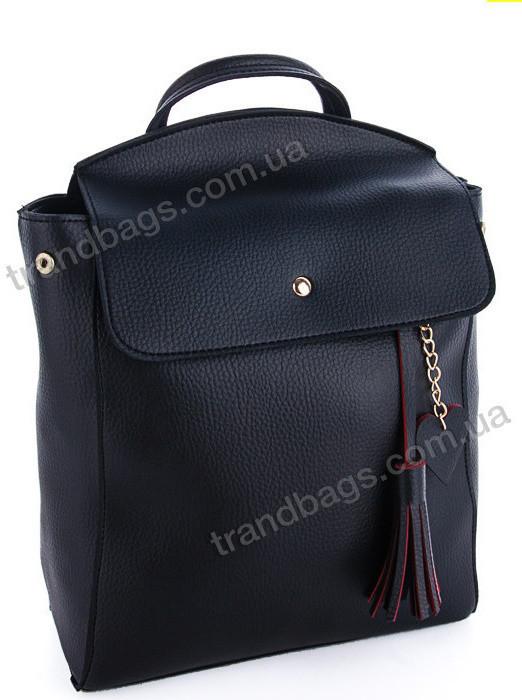 be0cd337b107 Купить Женский рюкзак WeLassie 44604 black купить женский рюкзак ...