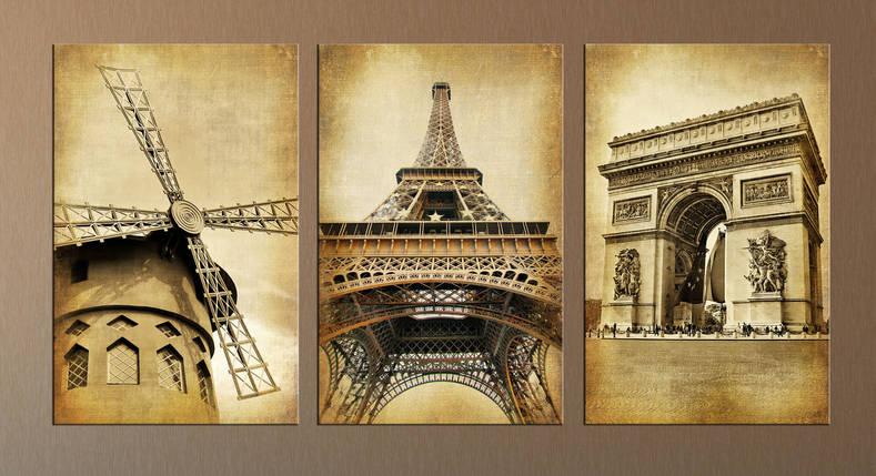"Модульная картина ""Ретро Париж"", фото 2"