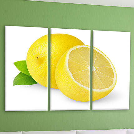 "Модульная картина ""Лимон"", фото 2"