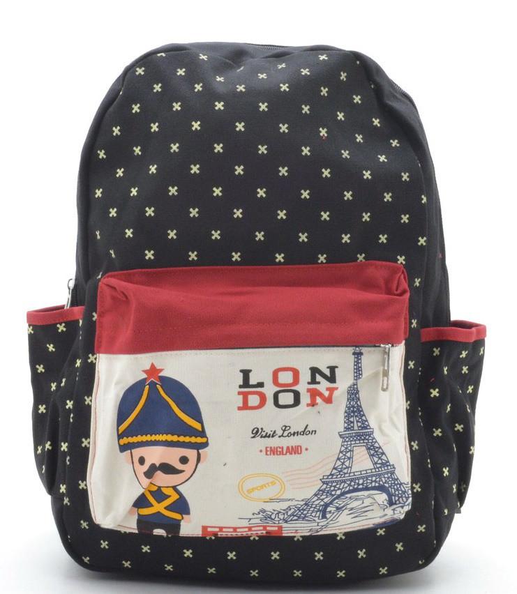 ce842508e780 Купить Детский рюкзак 8101 черный купить детский рюкзак недорого ...