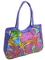 938549bb8f69a Женская пляжная сумка 1330 purple печать печать пляжные сумки, пляжные  корзинки недорого Одесса 7 км
