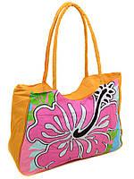 8a44878812852 Женская пляжная сумка 1331 yellow печать печать пляжные сумки, пляжные  корзинки недорого Одесса 7 км