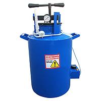 Большой электрический автоклав на 14 литровых или 20 поллитровых банок