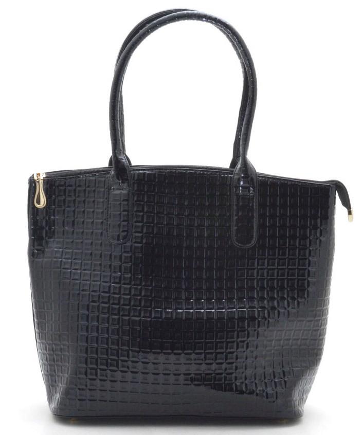 bd1123bad93e Женская сумка 68702/68718 квадрат черная женские сумки продажа недорого со  склада в Одессе 7 км