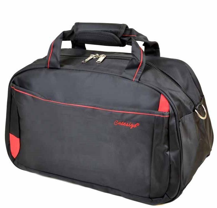 dcbdaa550fb6 Дорожная сумка 22806-20 black-red дорожные сумки купить недорого Одесса 7 км