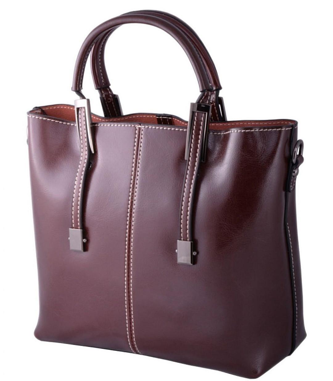 6e64d57747dd Купить Женская кожаная сумка 872 коричневый купить кожаную женскую ...