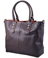 Женская кожаная сумка 629 коричневый купить кожаную женскую сумку, фото 1