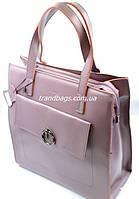 Женская кожаная сумка 10716 purple купить кожаную женскую сумку, фото 1