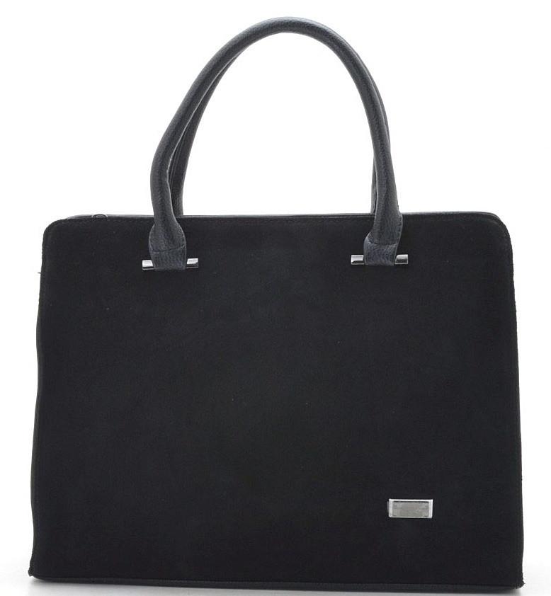 96d44d92f9a3 Купить Женская сумка 881340 black Женская сумка из натурального ...
