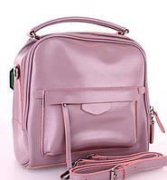 Женский кожаная сумка клатч Galanty 10640 Pink женские клатчи из натуральной кожи купить недорого