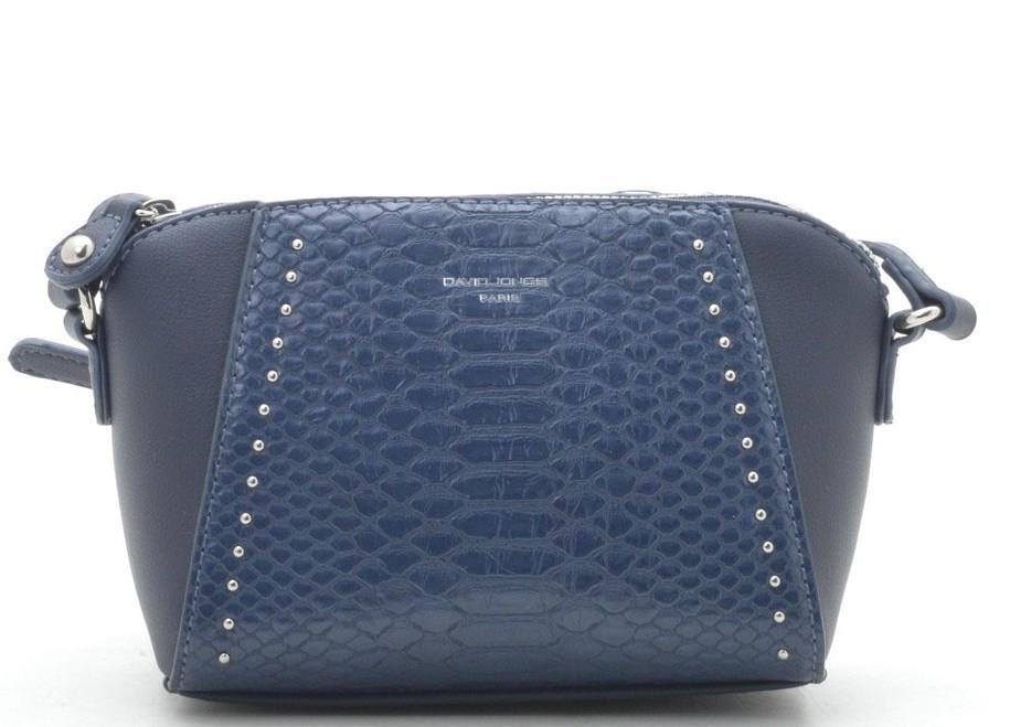 13e60d2b1980 Женский клатч David Jones CM5825-1 d. blue (синий) женская маленькая сумочка