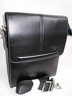 Мужская сумка POLO 3388-2 black купить мужскую сумку ПОЛО недорого, фото 1