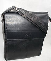 Мужская сумка POLO 88857-3 black купить мужскую сумку ПОЛО недорого, фото 1