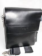 Мужская сумка POLO 8825-2 black купить мужскую сумку ПОЛО недорого, фото 1