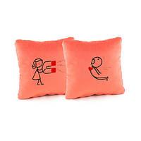 Набор подушек для влюбленных Магнит Светло-розовые (PV_001_fk_dv_b)