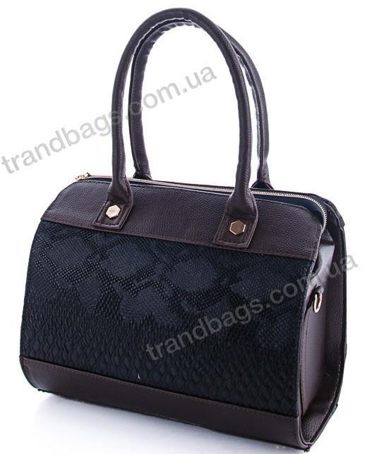 4f64d3a0fa3d Женская сумка WeLassie 32007 brown женские деловые сумки, каркасная сумка
