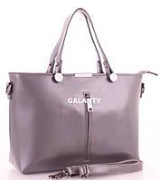 5be4d9993507 Женская кожаная сумка Galanty 7004 D.Gray купить кожаную женскую сумку