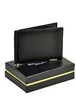 Мужское кожаное портмоне CLASSIC. кожа BRETTON М3206 black.Купить мужское портмоне из натуральной кожи, фото 1