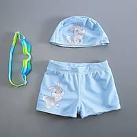 Комплект c UPF 50+  плавки и шапочка для плавания Микки Маус, Disney, фото 1